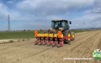 Progetto Fertibio. È tempo per la semina 2021 del cece