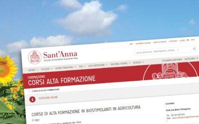 Sant'Anna di Pisa. Corso di alta formazione in biostimolanti in agricoltura